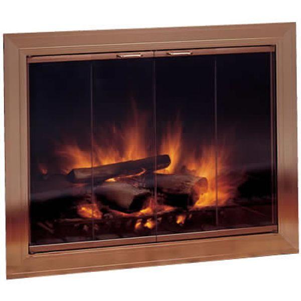 Savannah Masonry Fireplace Door image number 0
