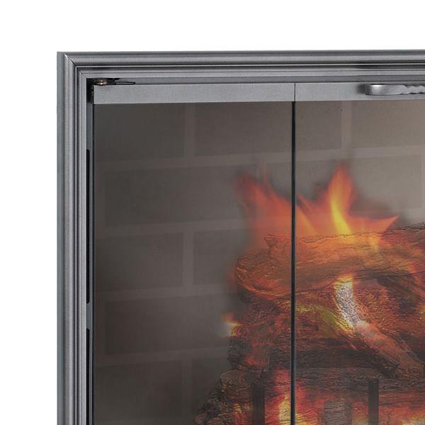 Shadow Zero Clearance Fireplace Door image number 1