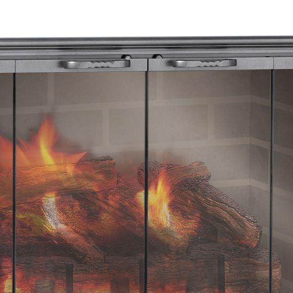 Shadow Zero Clearance Fireplace Door image number 2