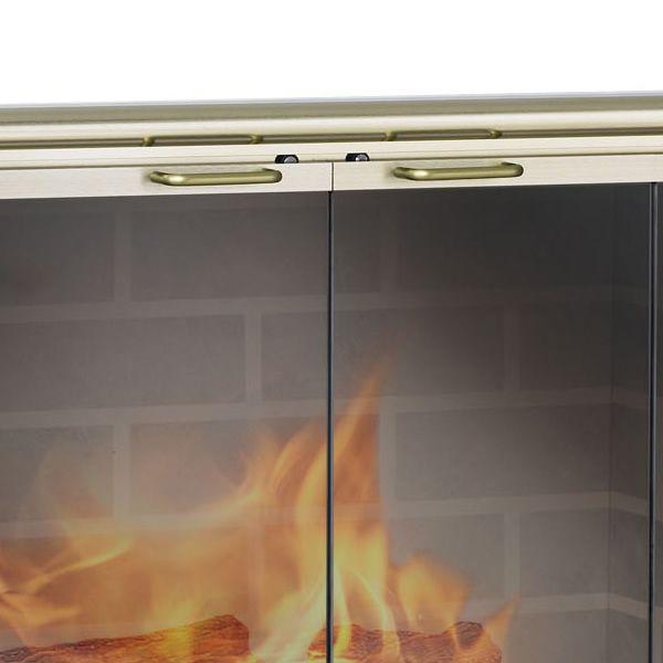 Stiletto ZC Corner Fireplace Door image number 2