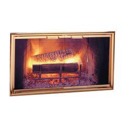 Silhouette Zero Clearance Fireplace Door
