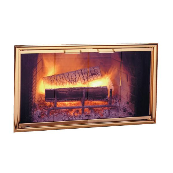 Silhouette Zero Clearance Fireplace Door image number 0