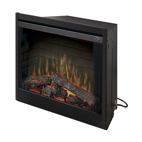 "Dimplex Deluxe Built-In Electric Fireplace - 39"" image number 0"
