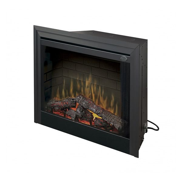 """Dimplex Deluxe Built-In Electric Fireplace - 33"""" image number 0"""