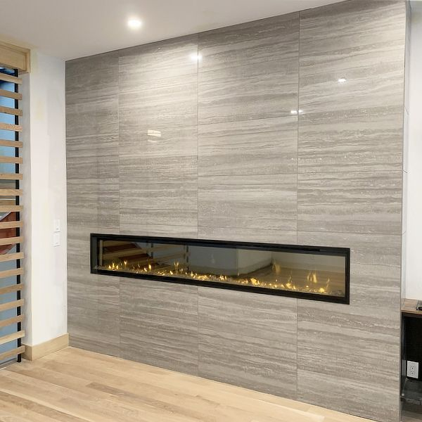"""Dimplex IgniteXL Linear Electric Fireplace - 100"""" image number 1"""