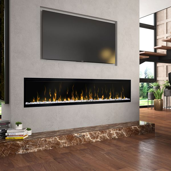 """Dimplex IgniteXL Linear Electric Fireplace - 74"""" image number 1"""
