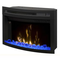 Dimplex Multi-Fire XD Curved Glass Electric Fireplace - 25""