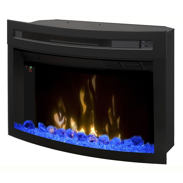 """Dimplex Multi-Fire XD Curved Glass Electric Fireplace - 25"""" image number 0"""