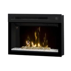 Dimplex Multi-Fire XD Glass Ember Electric Fireplace - 25""