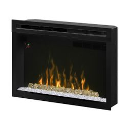 Dimplex Multi-Fire XD Glass Ember Electric Fireplace - 33""