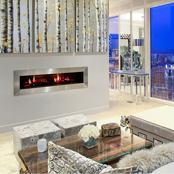 Dimplex Opti-V Duet Electric Fireplace image number 1