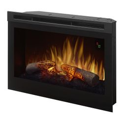 Dimplex Plug-In Electric Fireplace with Logs - 25""
