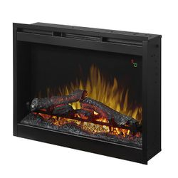 Dimplex Plug-In Electric Fireplace with Logs - 26""