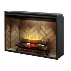 "Dimplex Revillusion 42"" Built-In Electric Fireplace"