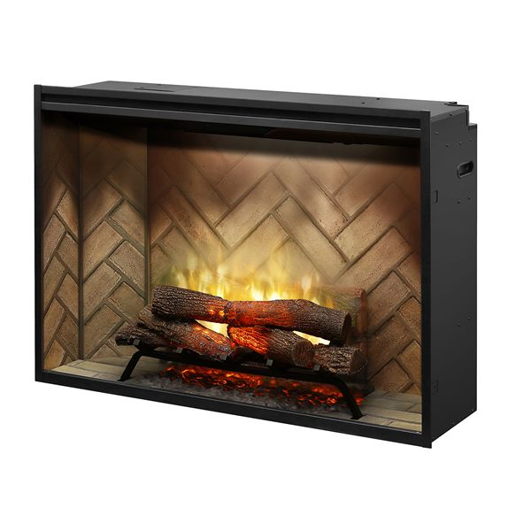 "Dimplex Revillusion 42"" Built-In Electric Fireplace image number 0"