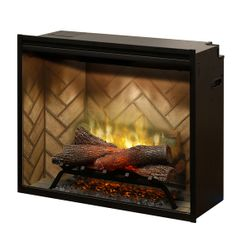"Dimplex Revillusion 30"" Built-In Electric Fireplace"