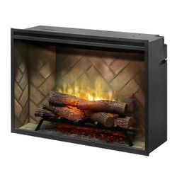 "Dimplex Revillusion 36"" Built-In Electric Fireplace"