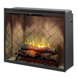 "Dimplex Revillusion 36"" Portrait Built-In Electric Fireplace"