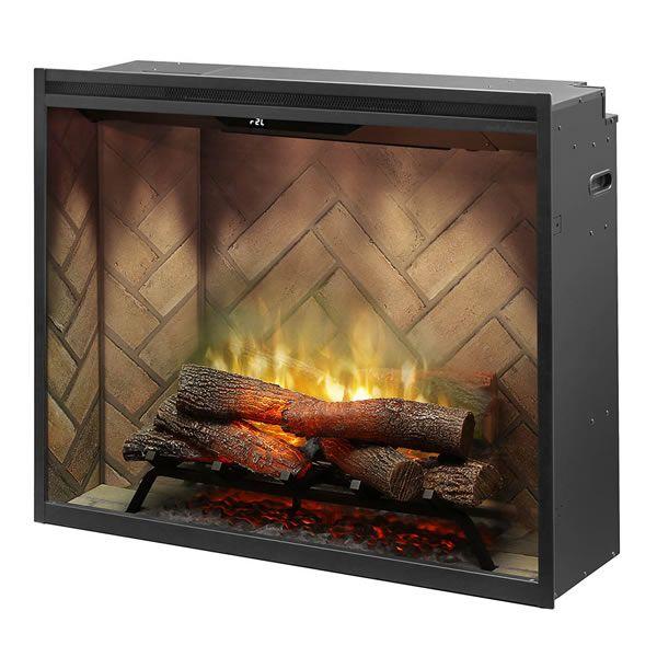 "Dimplex Revillusion 36"" Portrait Built-In Electric Fireplace image number 0"