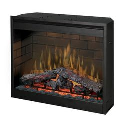 Dimplex Self-Trimming Plug-In Electric Fireplace - 30""