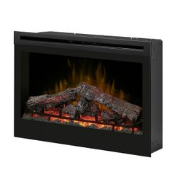 Dimplex Self-Trimming Plug-In Electric Fireplace - 33""