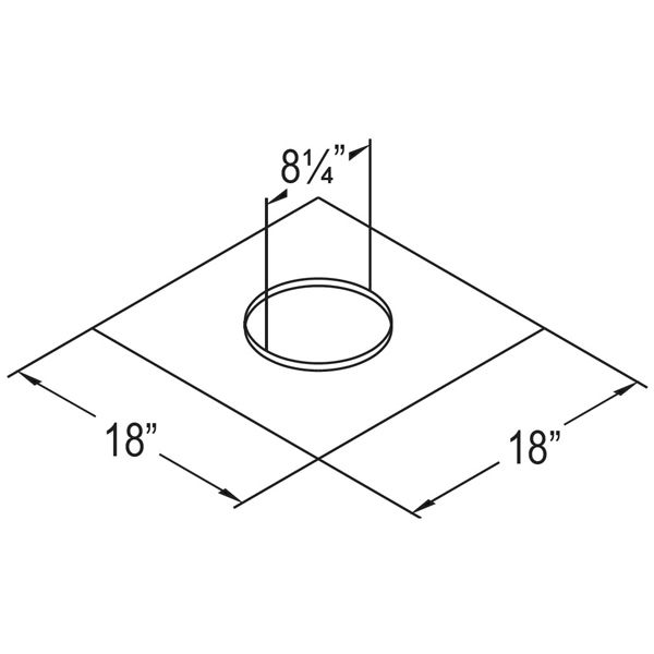 "4"" Diameter DirectVent Masonry Chimney Conversion Kit image number 2"