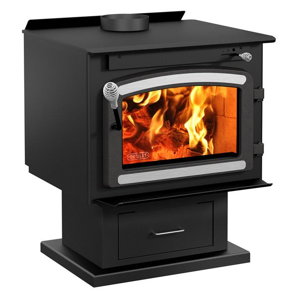 Drolet Classic High Efficiency EPA Wood Stove with Blower image number 1