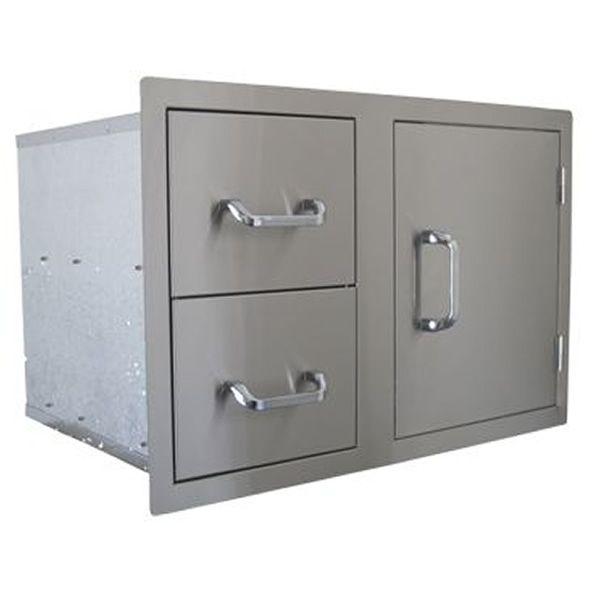Dual Drawer Single Door Combo image number 0