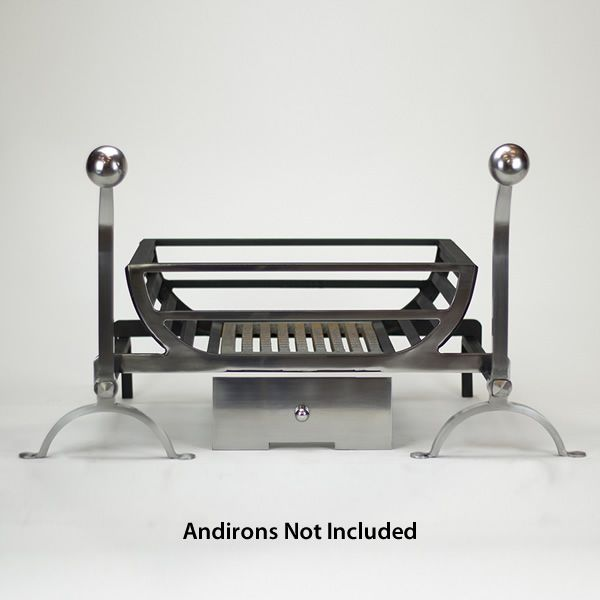 "Ducknest Fire Basket For Andirons - 18"" image number 0"