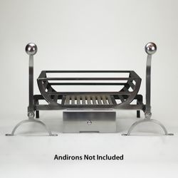 Ducknest Fire Basket For Andirons - 18""