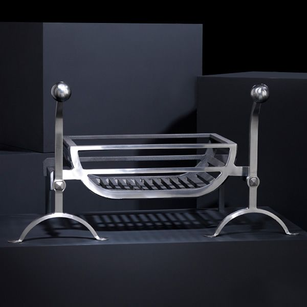 "Ducknest Fire Basket For Andirons - 18"" image number 2"