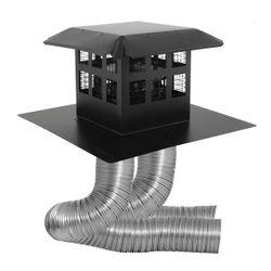 DuraVent Co Linear Kit - Prairie Cap