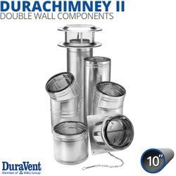 "10"" Diameter DuraVent DuraChimney Components"