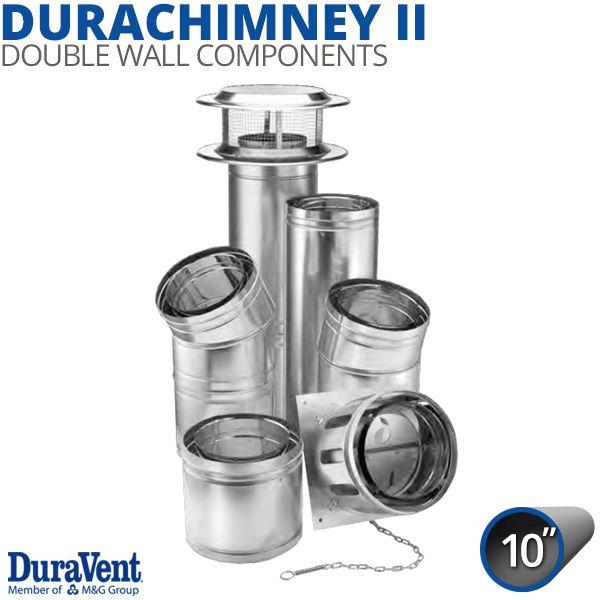 "10"" Diameter DuraVent DuraChimney Components image number 0"