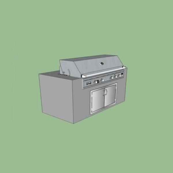 EOK Modular Straight Outdoor Kitchen image number 0