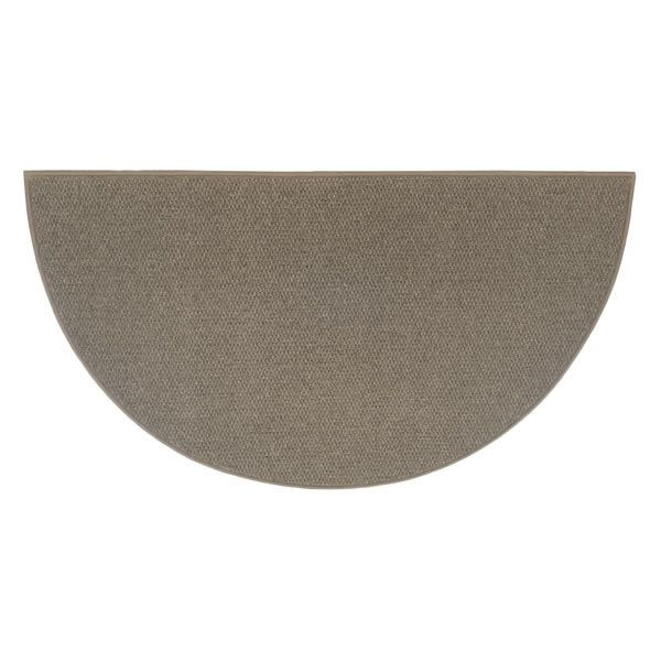 Ember 6' Half Round Wool Fireplace Hearth Rug image number 0