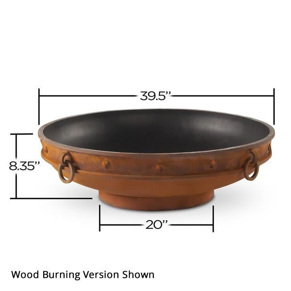 Emperor Gas Outdoor Fire Pit image number 4