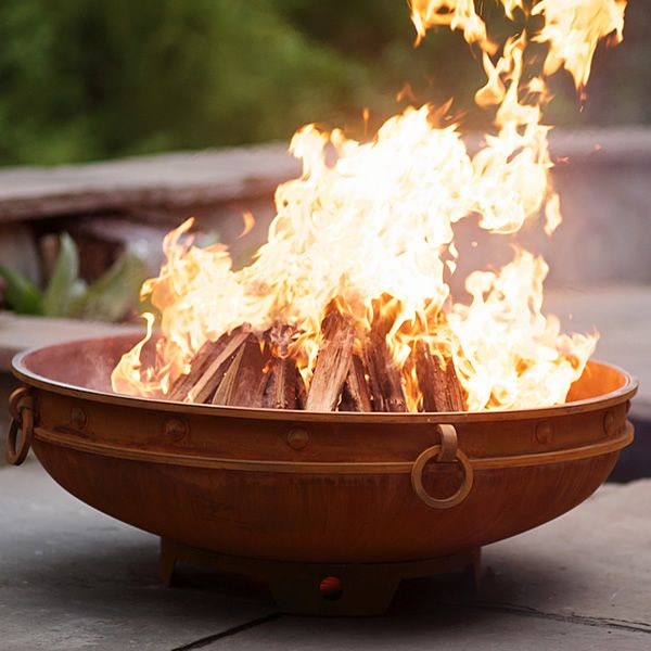 Emperor Wood Burning Outdoor Fire Pit image number 2
