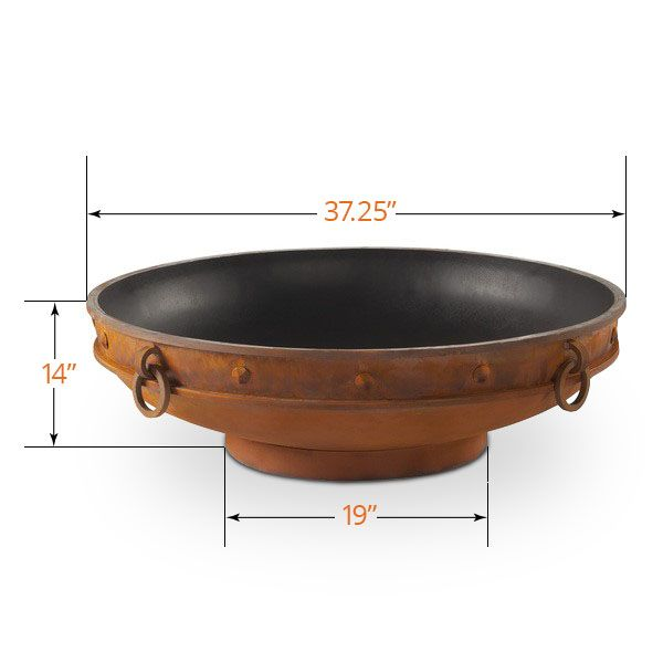 Emperor Wood Burning Outdoor Fire Pit image number 4
