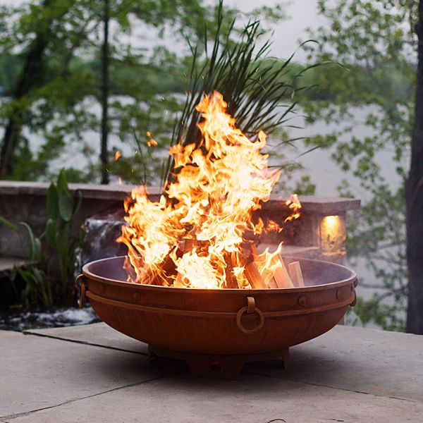 Emperor Wood Burning Outdoor Fire Pit image number 0