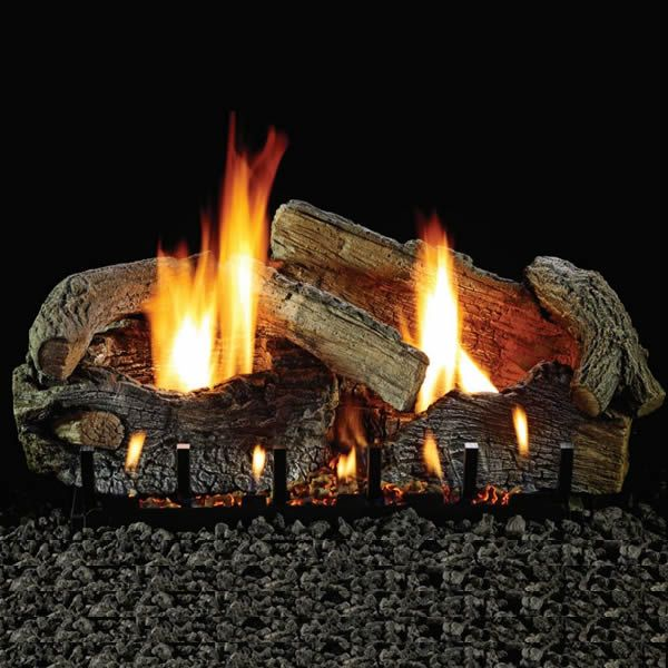 Empire Aged Oak Ventless Gas Log Set image number 0