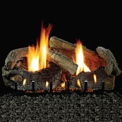 Empire Aged Oak Ventless Gas Log Set