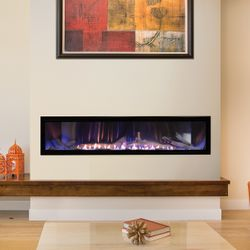 Empire Boulevard Ventless Linear Gas Fireplace 60""