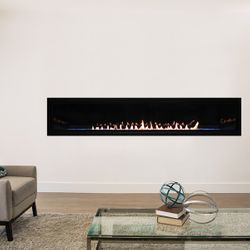 Empire Boulevard Ventless Linear Gas Fireplace 72""