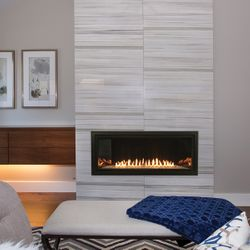 Empire Boulevard Contemporary Ventless Gas Fireplace - 36""