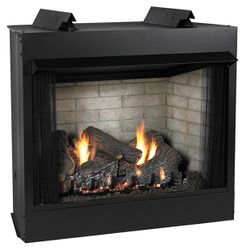 Empire Breckenridge Deluxe Ventless Firebox Black