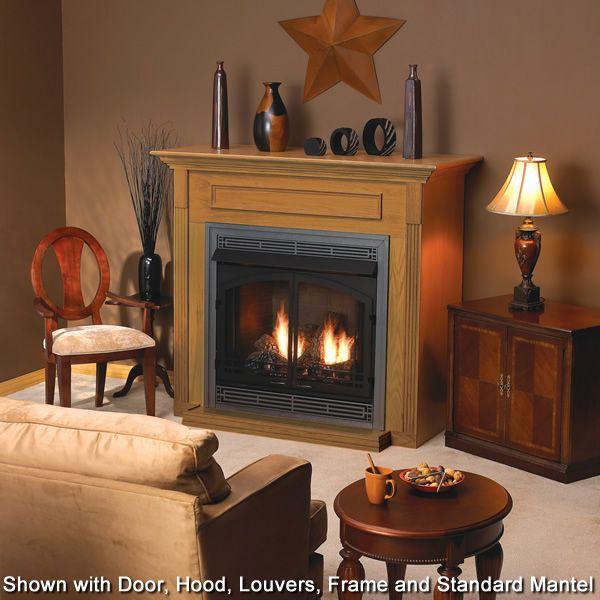 Empire Breckenridge Premium Ventless Louvered Firebox image number 2