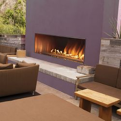 Empire Carol Rose Outdoor Linear Gas Fireplace - 48""