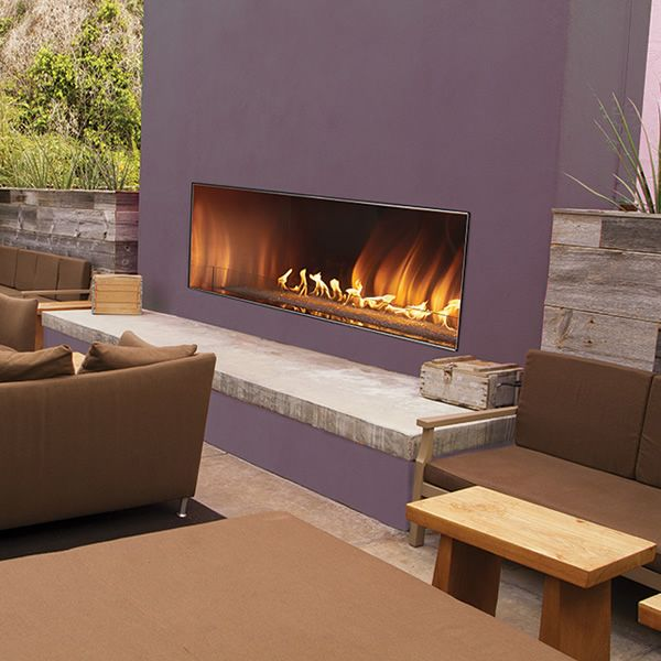 "Empire Carol Rose Outdoor Linear Gas Fireplace - 48"" image number 0"