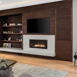"Empire Contemporary Boulevard Direct Vent Fireplace - 36"""